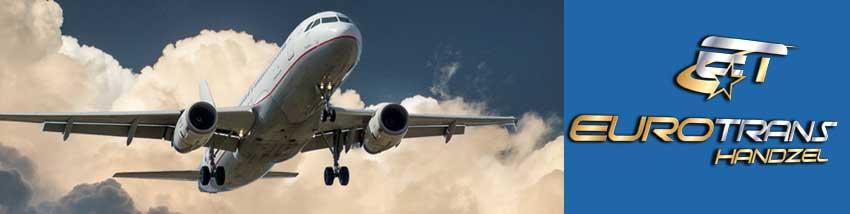 transport towarów samolotem